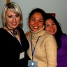 Sisters Jean and Aileen Arcenal and our manager Nadia