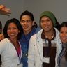 Dita, Yvonne, Janrey, Eduardo and Marivic