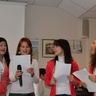 Rehearsal of Au Pair song