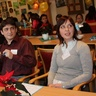 Valentyna, Sasha and Kristina are au pairs from Ukraine