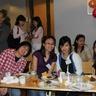 Philippines au pairs having a dinner