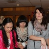 Anastacia, Nastya and Vita are waiting in a line for some tea