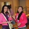Cheerful Philippines girls