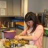 Elena is making salad