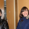 Olena and Svitlana came to the meeting in Good mood