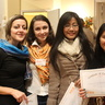 Lyudmyla, Nadia, Mary Grace and Lorena