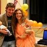Natalia and Andriy with dolls :)
