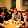 Ellen (Philippines), Ludmila (Ukraine) and Malgorzata (Poland)