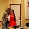 Andriy and Kvitana from Energy Au Pair team