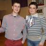 Viktor and Sasha from Ukraine, supporting stuff