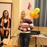 Anastasia from Ukraine is presenting her team task