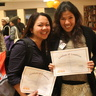 Certificates of completion for Noemi and Lovely