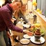 Mariya and Svitlana  from Ukraine like sweets