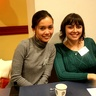 Au pair from Philippines and Ukraine have good time together