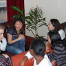 Au pairs from Philippines, Mongolia, Kenia and Ukraine are working under some task