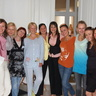 Au pairs from Ukraine with our manager Natalia