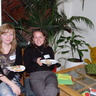 Au pairs Marina and Yelena from Ukraine just arrived to Norway