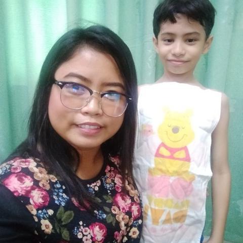 Au pair Cherry in Philippines