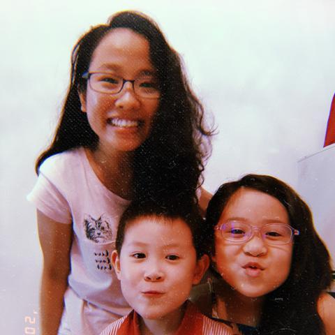Au pair Annalou in Singapore