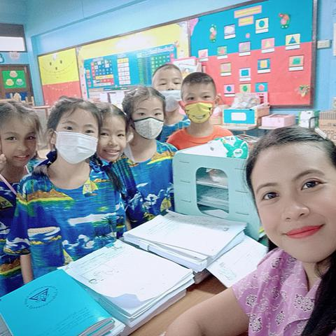 Au pair Anna Lorraine in Thailand
