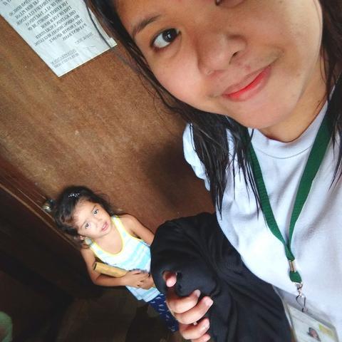 Au pair Joanna in Philippines