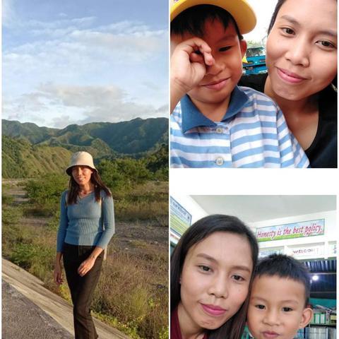 Au pair Jerose in Philippines