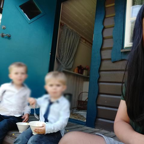 Au pair Jerriza in Sweden