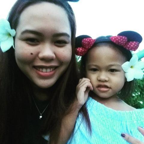 Au pair Esther in Philippines